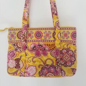 Vera Bradley quilted floral shoulder bag